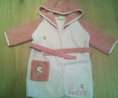 Peignoir fille taille 2 ans Looney Toons