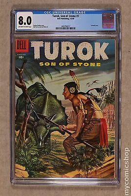 Turok Son of Stone (1956 Dell/Gold Key) #3 CGC 8.0 1465756012