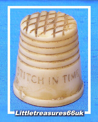 Horn 'a Stitch In Time' Thimble.....