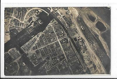 WW1 Photographic Postcard Hospital in France, Aerial View