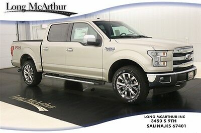 2017 Ford F-150 LARIAT 4X4 SUPERCREW NAV SUNROOF MSRP $59950 4WD 4 DOOR SUPER DUTY NAVIGATION TWIN PANEL MOONROOF LEATHER SEATS REMOTE START