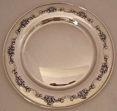 "Gorham Sterling Silver Strasbourg Pattern 6"" Bread And Butter Plate(S) # 1137"