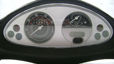 OEM Dashboard Speedo Instrument Panel Housing off 2009 Piaggio Fly 150 #U4337
