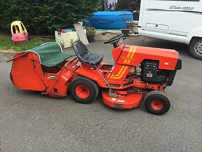 westwood t1600 ride on mower with grass collector