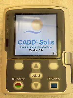 CADD-Solis Model 2100 Ambulatory Infusion Pump with Version C,D Software