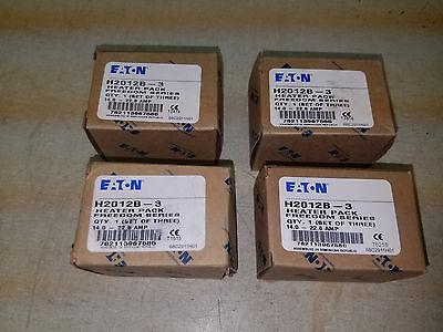 Eaton heater packs 4 sets of three 14-22.8 amp H2012B-3 new in boxes