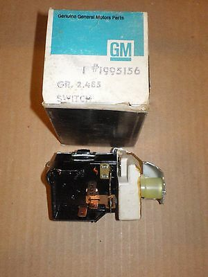 Nos 1968-69 Pontiac Gto & Judge Vacuum Hideaway Headlight Lamp Switch 1995156