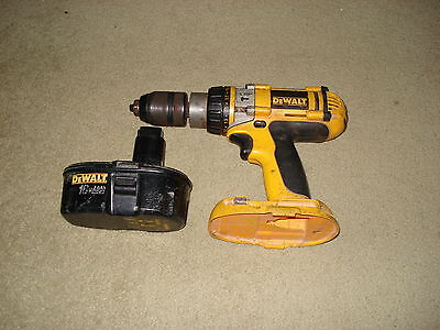 Dewalt Cordless Drill Dc988 With Battery