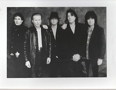 "UFO UK SCARCE 9"" x 7"" OFFICIAL BLACK & WHITE PROMOTIONAL PUBLICITY PHOTO"