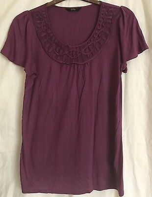 Per Owned M & S Ladies T Shirt Size 16 Lovely Top