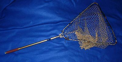 Vintage fishing net – Trout, fly fishing