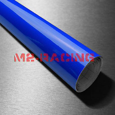 Fluorescent Blue Vinyl Adhesive Backed Die Cut Decal Plotter Sign Sticker Film