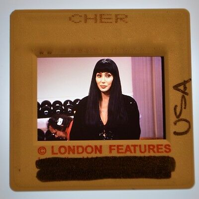 CHER  Original Promotional Quality USA Archive Photo Slide Negative Transparency