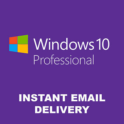 Windows 10 Professional Win 10 Pro 32/64 Bits Product Activation Key License