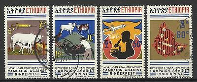 Ethiopia 1974 Rinderpest Part Set Used
