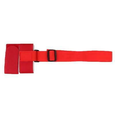 Ski Pole Shoulder Hand Carrier Lash Handle Straps Porter Hook Loop Red