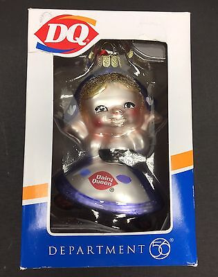 Dairy Queen Dutch Girl Christmas Ornament Decoration New In Box Department 56