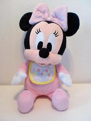 """Disneyland Tokyo Baby Minnie Mouse Park Exclusive Pink Plush Soft Toy Doll 10"""""""
