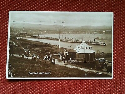 1927 RP Douglas Head Camera Obscura Isle of Man real photo Manx IOM