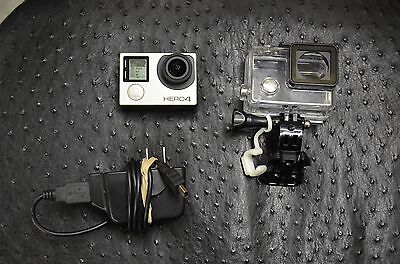 EXCELLENT GoPro HERO4 LCD Edition Camcorder W/ ACCESSORIES 1 YEAR WARRANTY