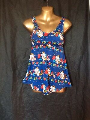 60s Vintage Swimsuit Janet Dickinson Size 8 Nwt
