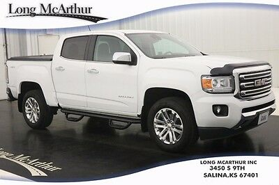 2015 GMC Canyon SLT 4WD AUTOMATIC CREW CAB 4X4 4 DOOR NAVIGATION HEATED LEATHER SEATS REMOTE START DRIVER ALERT PACKAGE