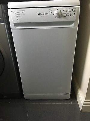 Hotpoint SIAL11010G A+ 10 Place 7 Programmes Slimline Dishwasher in White