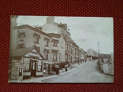 RP 1920s The Crescent Post Office Summer Hill Douglas Isle of Man IOM Manx
