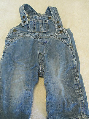 Children's Place Coverall Jeans 3 - 6 Months