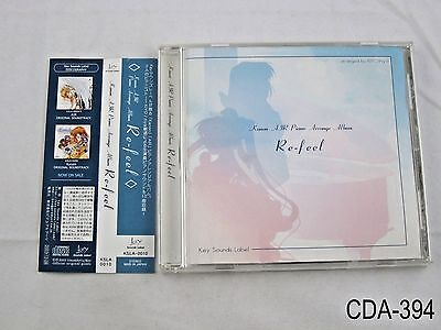 Kanon Air Piano Arrange Album Re-feel CD OST Japanese Import Key Game Music A