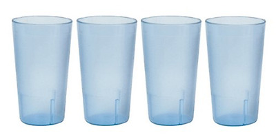32 oz. (Ounce) Restaurant Tumbler Beverage Cup, Stackable Cups, Break-Resistant