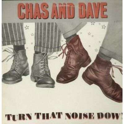 "CHAS AND DAVE Turn That Noise Down 12"" VINYL UK Rockney 1981 2 Track B/W Flying"