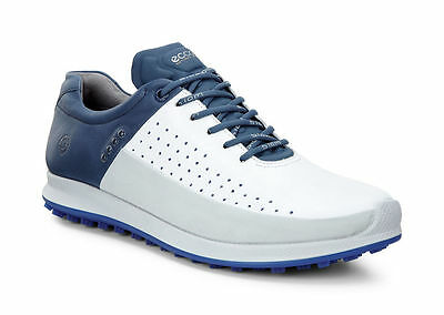 New Mens Ecco Biom Hybrid 2 Golf Shoes - 9-9.5/ Eur 43 - Authentic - $200 - Blue