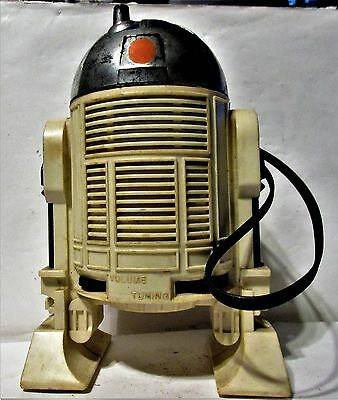 vintage 1978 R2D2 AM ROBOT RADIO;WORKS; MODEL 38530 General mills/Kenner