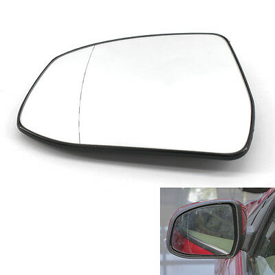 Car Door Rear Mirror Heated Glass White for Ford Focus Left Driver Side 12-14