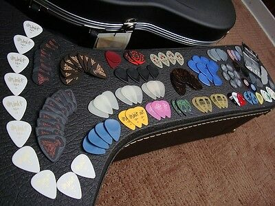 150 Guitar Picks Collection / Never Used / Dunlop, Clayton, Fender, Dava, etc.