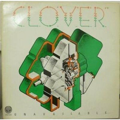 CLOVER (70'S ROCK GROUP FEATURING HUEY LEWIS) Unavailable LP VINYL UK Vertigo