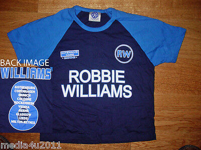 Robbie Williams Intensive Care 2006 Concert Tour Age 7-8 T Shirt New