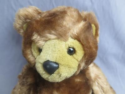 Big First And Main Dimples Teddy Bear Chestnut Brown Soft Plush  Stuffed
