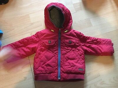 Ted Baker 6-9 Months Baby Boys Red Coat