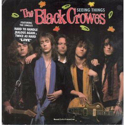 "BLACK CROWES Seeing Things 12"" VINYL UK Def American 1991 4 Track Part 2"