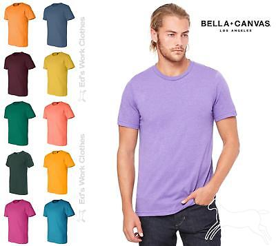 Bella + Canvas Unisex Short Sleeve Jersey T Shirt 100% Cotton 3001 up to 4XL