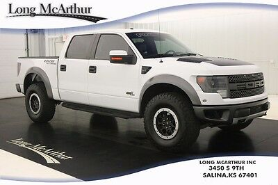2014 Ford F-150 SVT ROUSH RAPTOR 4WD CREW CAB  590HP SUPERCHARGED 4X4 NAVIGATION MOONROOF LEATHER REMOTE START REAR VIEW CAMERA REVERSE SENSING