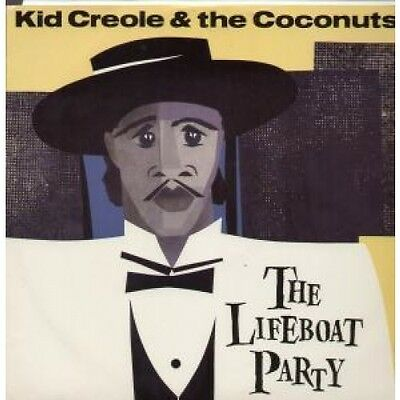"""KID CREOLE AND THE COCONUTS Lifeboat Party 12"""" VINYL UK Island 1983 3 Track"""