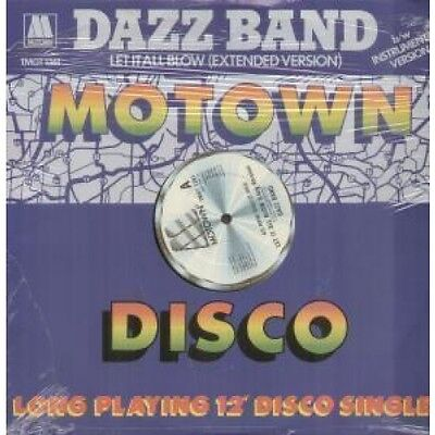 "DAZZ BAND Let It All Blow 12"" VINYL UK Motown 1984 3 Track Long Version"