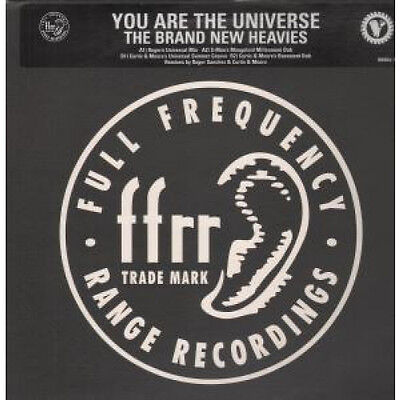 "BRAND NEW HEAVIES You Are The Universe 12"" VINYL UK Ffrr 1997 4 Track Promo In"