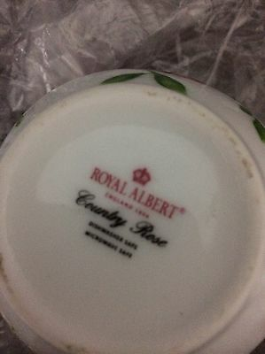 Brand New Royal Albert 3 Side Tea Cup Plates And Sugar Bowl