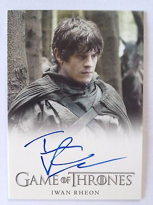 GAME of THRONES - Iwan Rheon as RAMSAY SNOW - Autogramm / Autograph Card