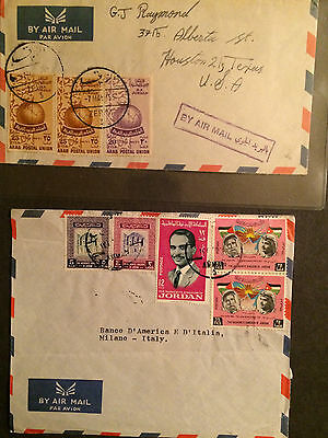 Jordan 1966 And 1955 Nicely Franked Covers