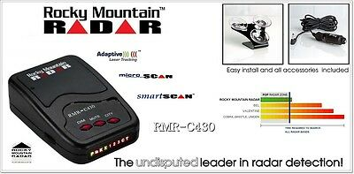 Rocky Mountain Radar C 4 3 0 - FCC LISTED - The Protection U Need - GREAT PRICE